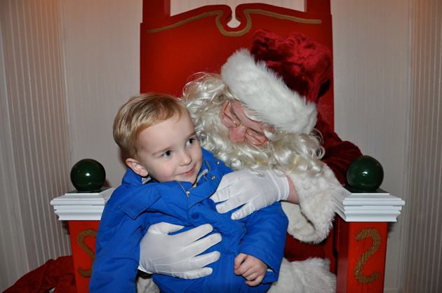 Post - Visits with Santa