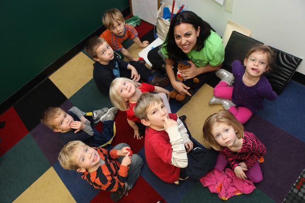 Language Classes at Language Stars in Barrington, Photographed by Julie Linnekin
