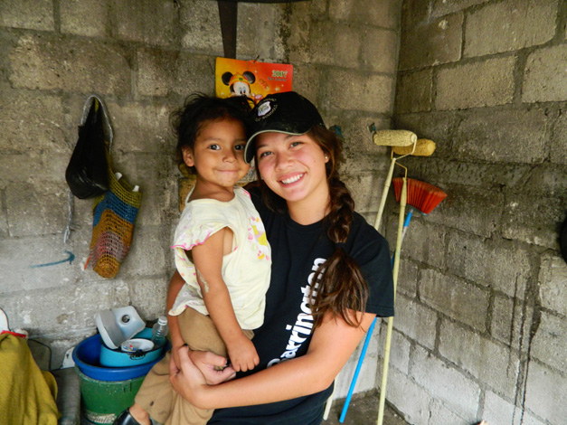 Courtney Quigley in Guatemala