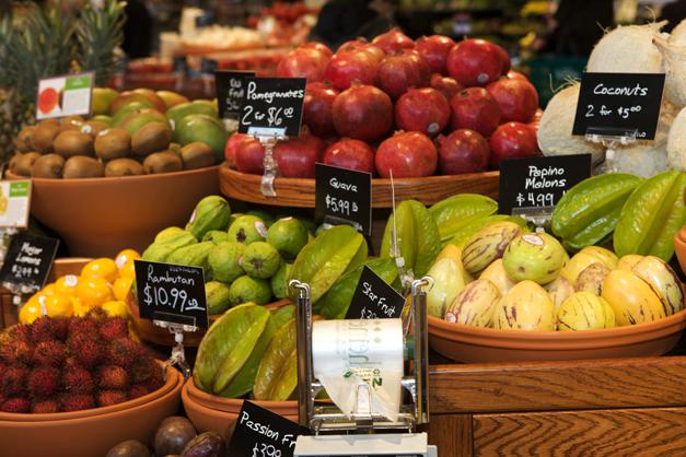 Exotic Produce at Heinen's Fine Foods - Photographed by Julie Linnekin