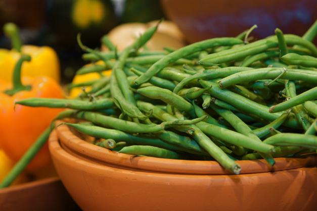 Green Beans at Heinen's Fine Foods - Photographed by Julie Linnekin