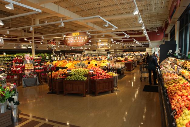 Heinen's Produce Department in Barrington - Photographed by Julie Linnekin