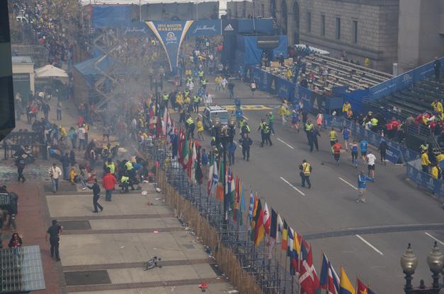 Boston Marathon Finish Line Bombing