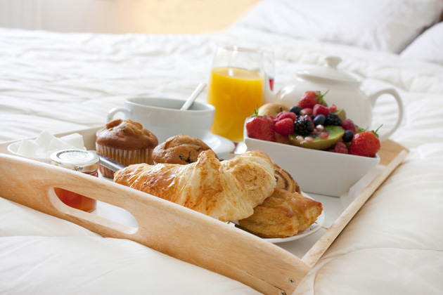 Post - Breakfast in Bed