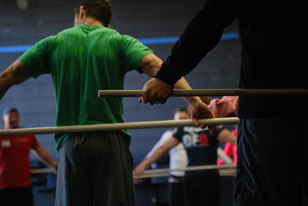 CrossFit Teamwork - Photo Courtesy of CrossFit Barrington