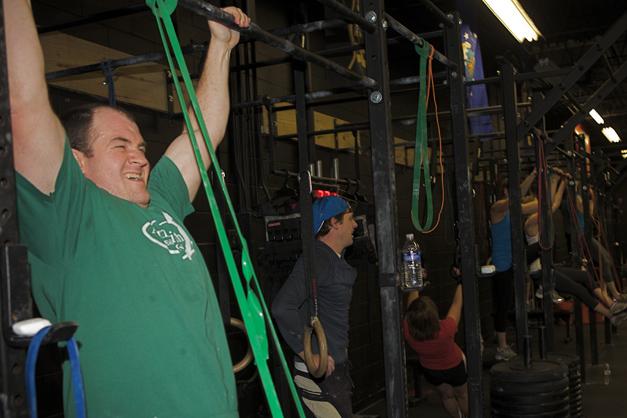 Robert Windon at CrossFit Barrington - Photographed by Julie Linnekin