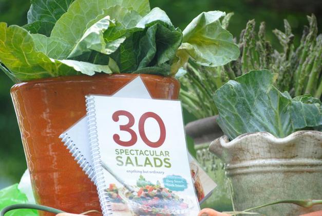 "Kelly Donlea's ""30 Spectacular Salads"" Cookbook"
