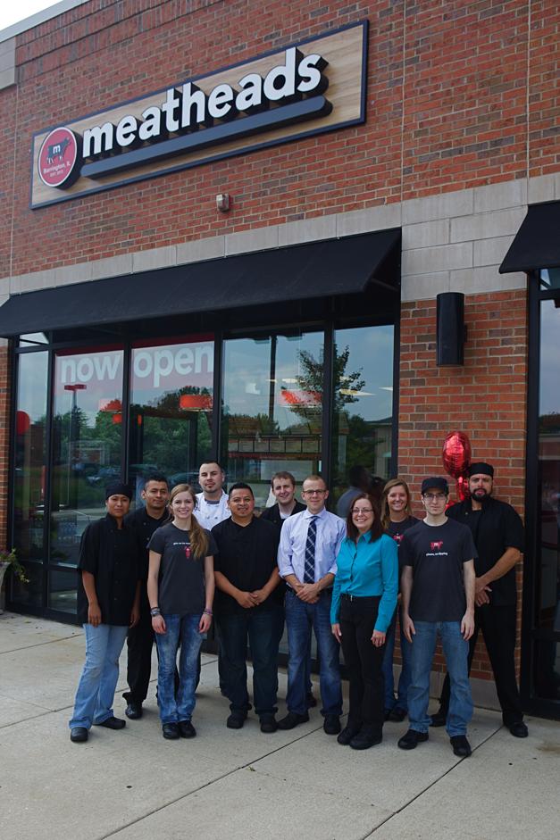 Meatheads Barrington Staff - Photographed by Julie Linnekin