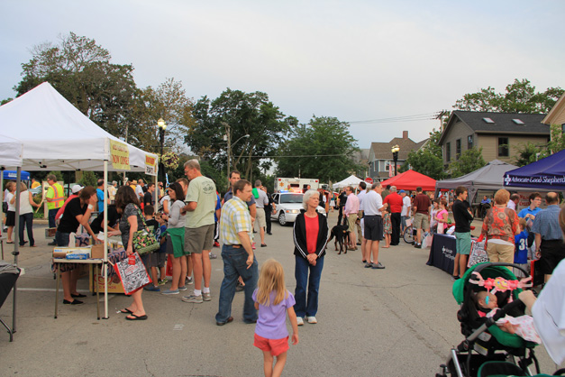 National Night Out in Barrington - Filmed by Jack Coombs