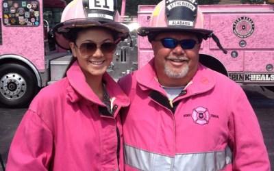 172. 365BarringtonTV: Pink Fire Trucks Deliver Message of Hope to Cancer Survivors in Barrington