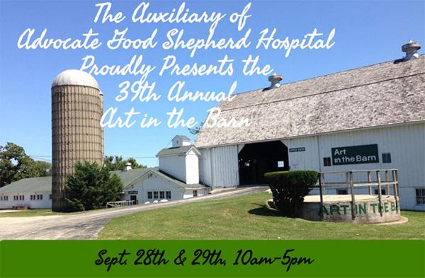 Art in the Barn at Advocate Good Shepherd Hospital in Barrington