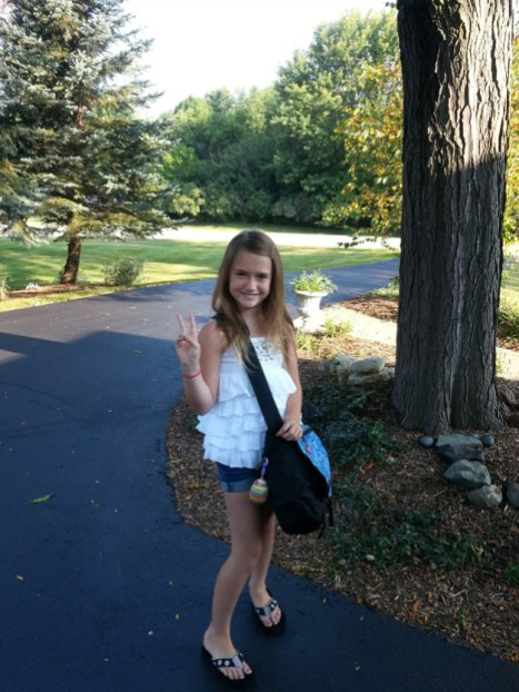 Peace Out for 3rd Grade! Lourdes, North Barrington School - Submitted by Mom, Christina