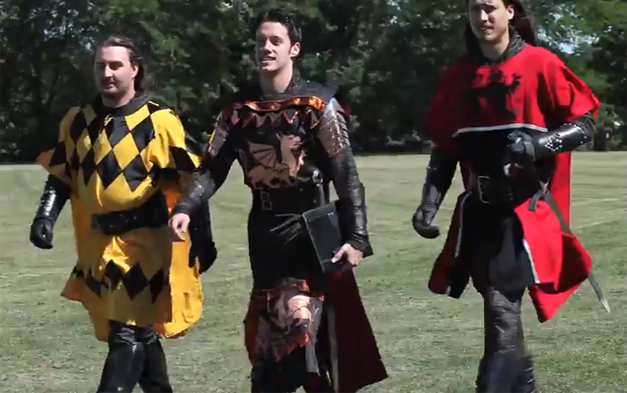 Medieval Times at the 9th Annual LeCompte/Kalaway Landowners Cup Polo Tournament