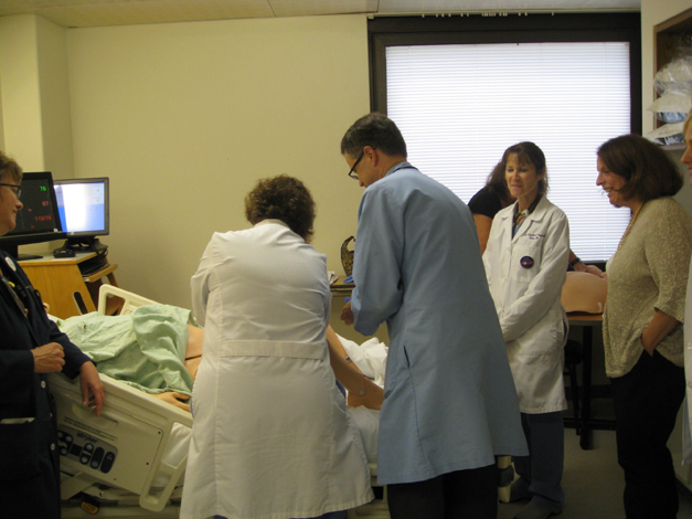 New Birthing Simulator at Good Shepherd Hospital - Courtesy of Erin Abbey