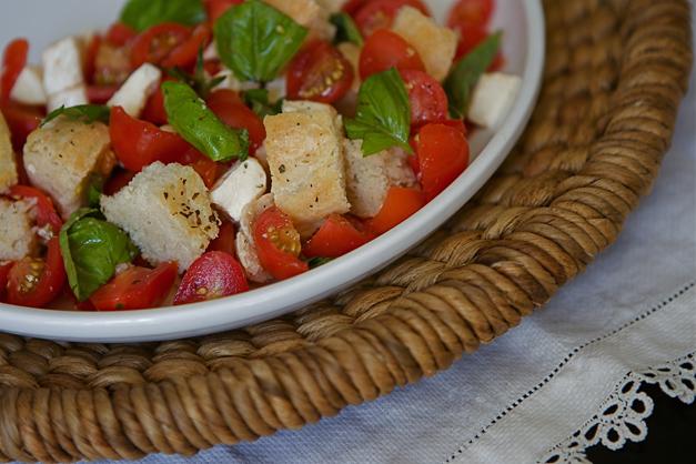 Kelly Donlea's Salad - Photographed by Julie Linnekin