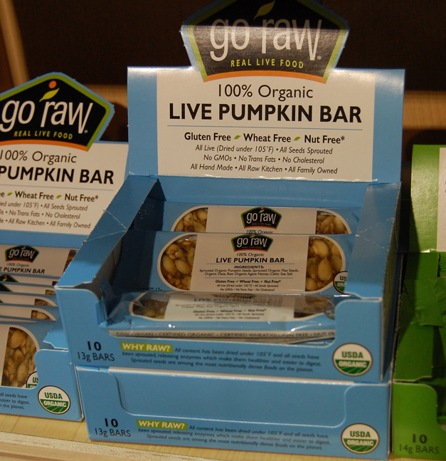 Mama Jess Favorite: Go Raw Pumpkin Seed Bar at Heinen's Fine Foods