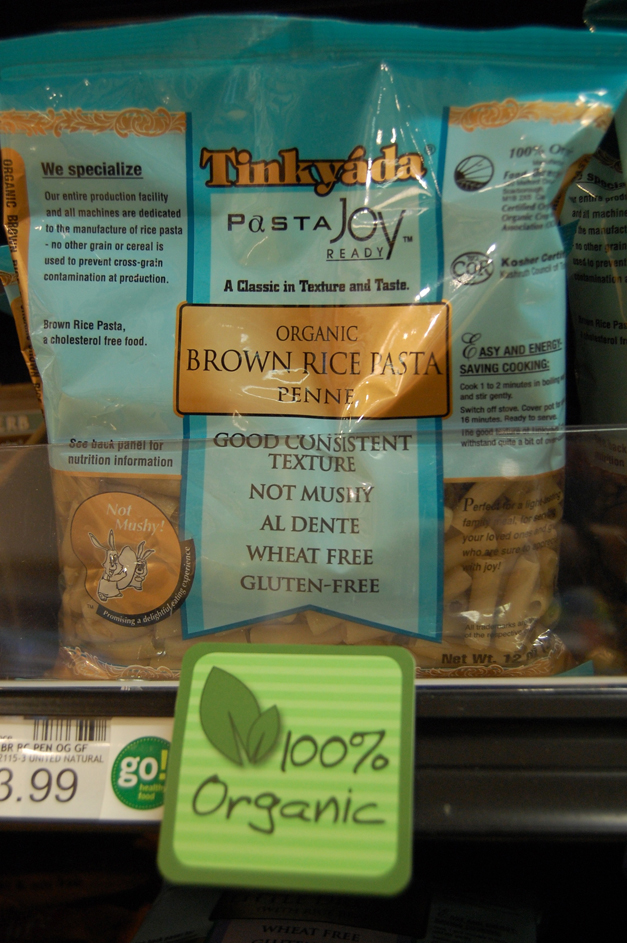 Mama Jess Favorite: Tinkyada Organic Brown Rice Penne Pasta at Heinen's Fine Foods