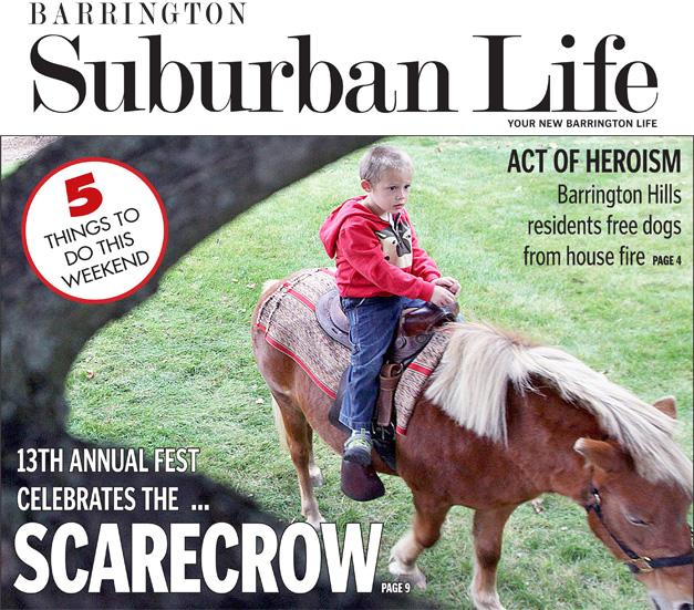 Barrington Suburban Life Issue - October 17, 2013
