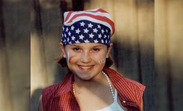 Veronica Roth Childhood Photo - Courtesy of Veronica's Mom, Barbara Ross