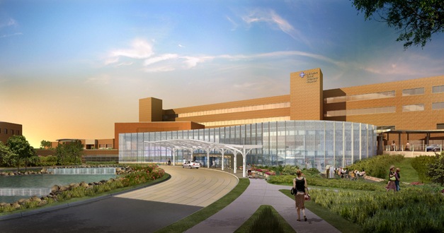 Advocate Good Shepherd Hospital Modernization - South Facade