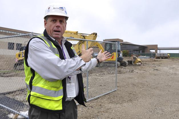 Tom Simon with Mortenson Construction