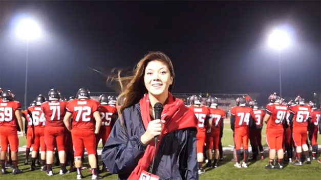 Catherine Goetze Reports from the Bronco's Final Game of the Season