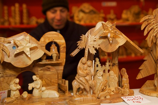 Shopping at Barrington ChristKindlFest - Photographed by Liz Luby Chepell