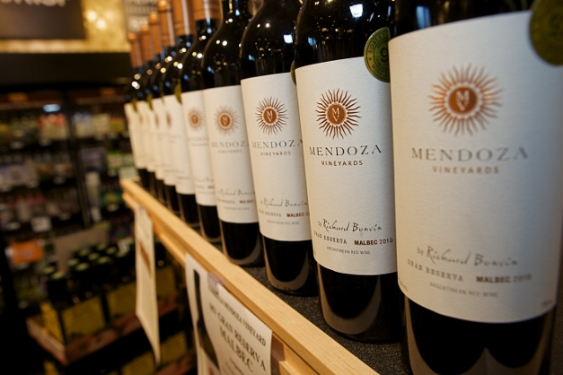 Mendoza Malbec is a phenomenal deal this holiday season - Photographed by Julie Linnekin