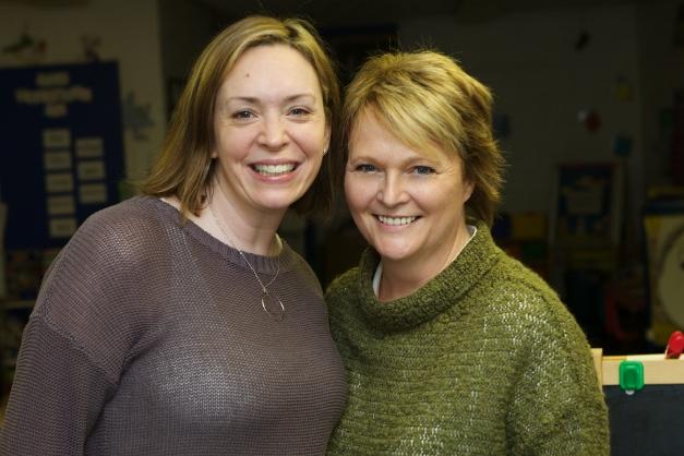 Chris Halvey and Denise Tenyer - Photographed by Julie Linnekin