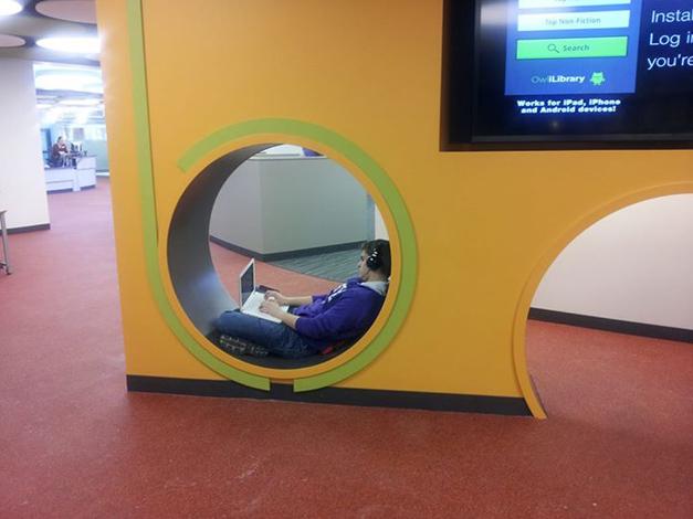 Post - Library Renovation