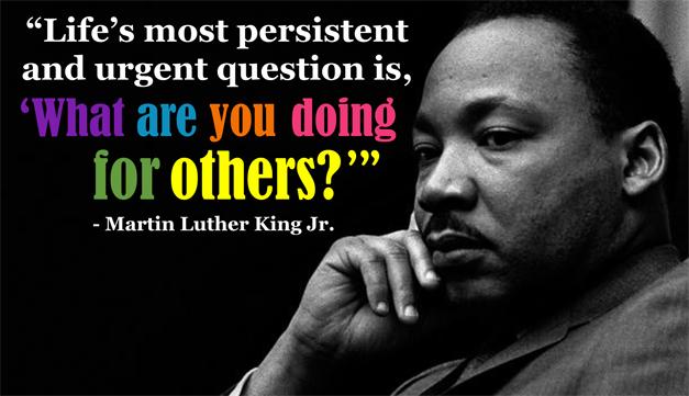 Teaching Volunteerism in Honor of MLK Day
