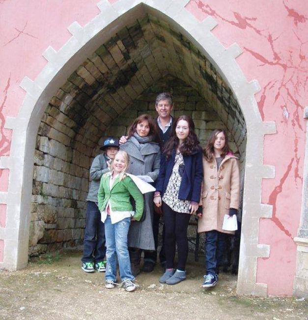 Author Rachel Joyce with her Family - RachelJoyceBooks.com
