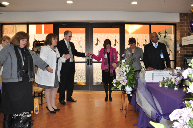 Advocate Good Shepherd Hospital Magnet Pinning Ceremony