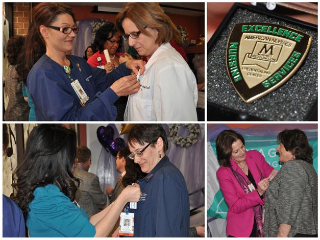 Good Shepherd Hospital Nurses Receive Magnet Recognition Pins
