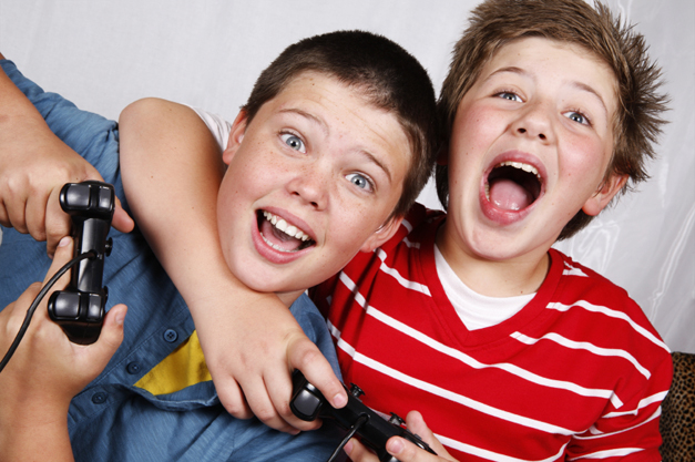 Active gaming & weight loss in children