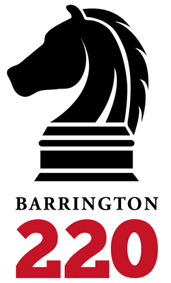 Post 250 - Barrington 220 Logo - Vertical