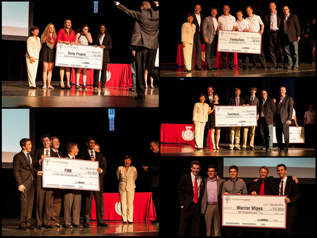 """Five Student Businesses Funded During the BHS Business Incubator """"Pitch Night"""""""