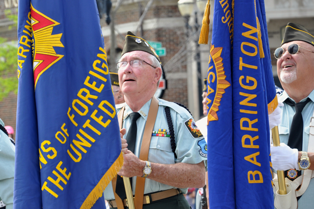 Barrington Memorial Day Parade, 2014 - Photo by Liz Luby Chepell
