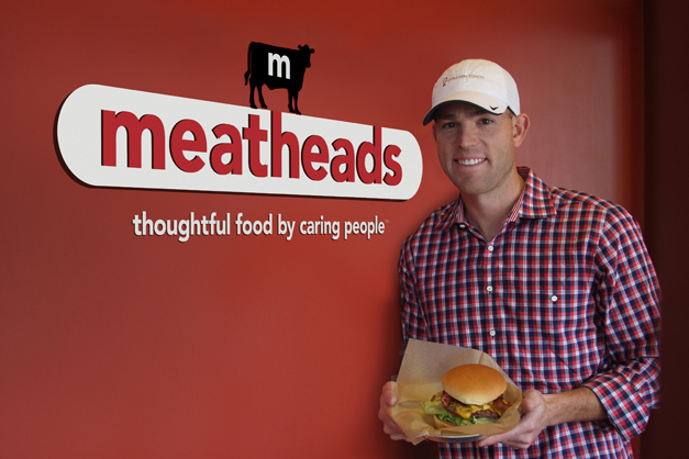 Post - Robbie Gould at Meatheads