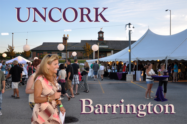 Uncork Barrington 2014 - Friday, July 11th, from 6 to 10 p.m.