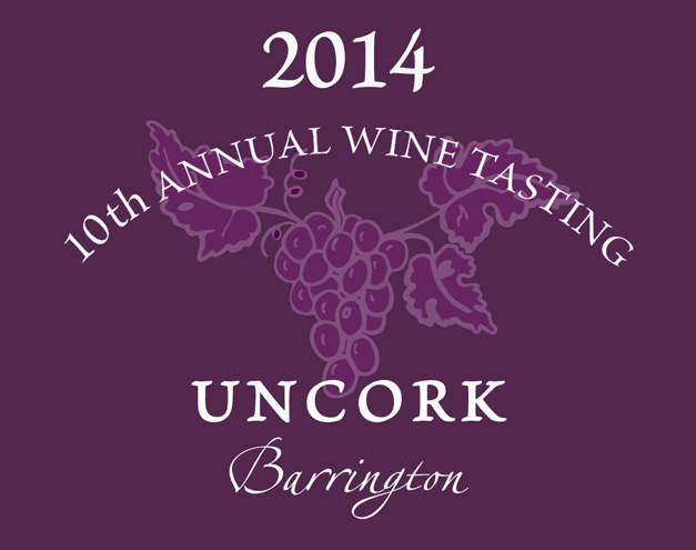 Uncork Barrington 2014 - Friday, July 11th from 6 to 10 p.m.
