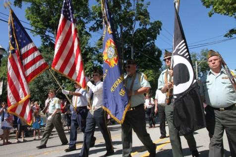 Post - Barrington 4th of July 2014 Parade - Bob Lee - 109