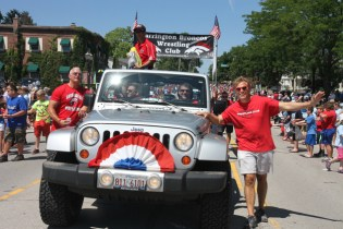 Post - Barrington 4th of July 2014 Parade - Bob Lee - 65