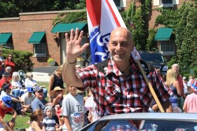 Post - Barrington 4th of July 2014 Parade - Bob Lee - 8