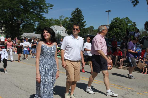 Post - Barrington 4th of July 2014 Parade - Bob Lee - 95