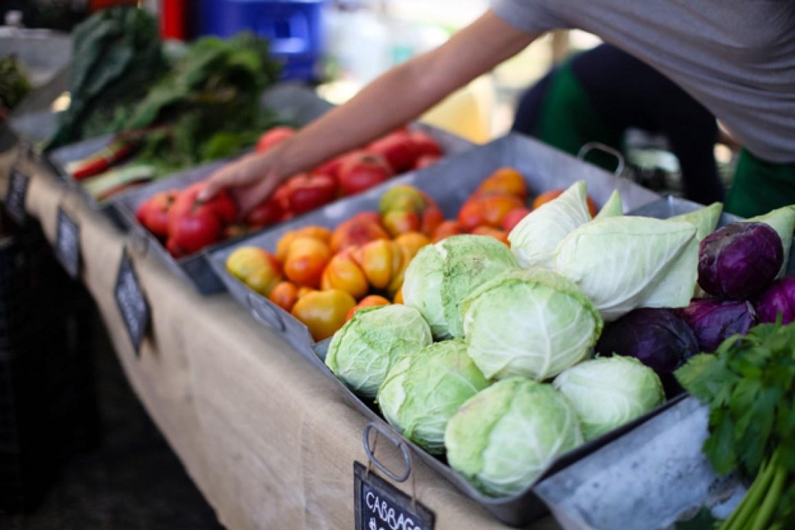 The Gentleman Farmer's market stall - Photograph courtesy of Christina Noel Photography
