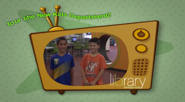 A Kid-Friendly Video Tour of the Barrington Area Library