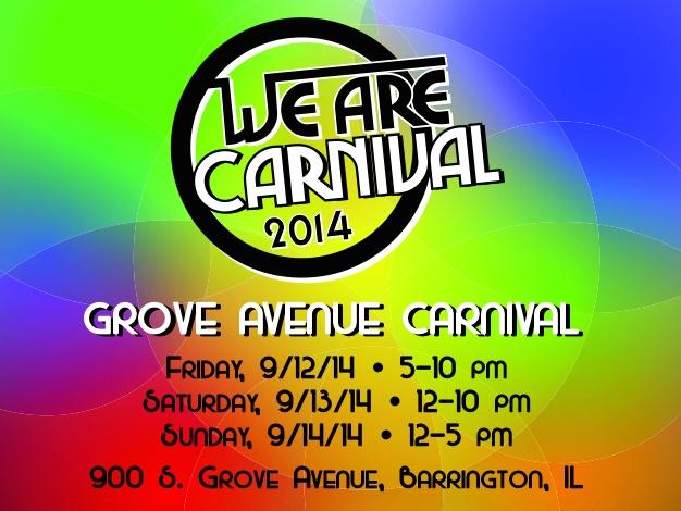 Grove Carnival Poster