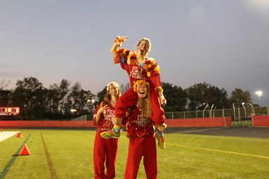 Post - Filly Football Powder Puff Homecoming Game - 10