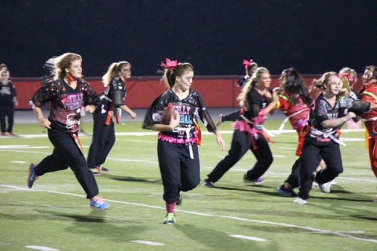 Post - Filly Football Powder Puff Homecoming Game - 103